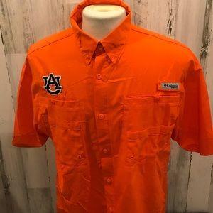 Auburn University Columbia PFG Omni-Shade Shirt